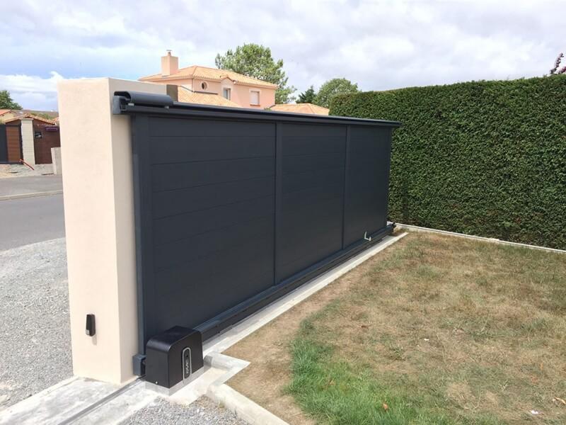 combien coute un portail coulissant motoris pergola garage et am nagement du jardin. Black Bedroom Furniture Sets. Home Design Ideas